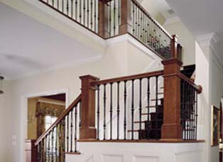 Prebuilt Stairs and Railing