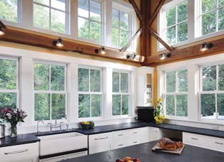 Aluminum & Vinyl Clad Wood Windows