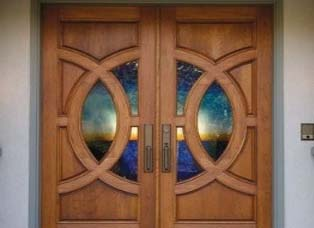 Wood Entrance Doors