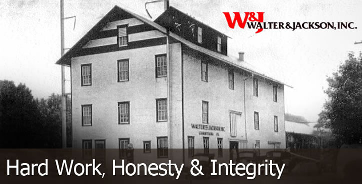 Walter & Jackson - Hard Work, Honesty & Integrity